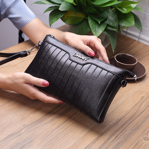 2017新款女包超薄软皮女士手包休闲拉链手拿包女信封包斜挎小包