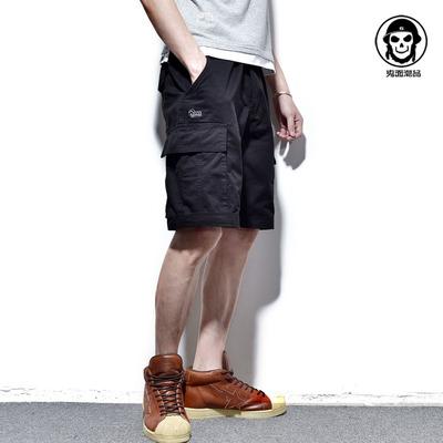 Giải phóng mặt bằng đặc biệt! Chất lượng cao! Phong cách quân sự lớn túi overalls chàng trai 'quần năm quần quần ngụy trang quần short Quần làm việc