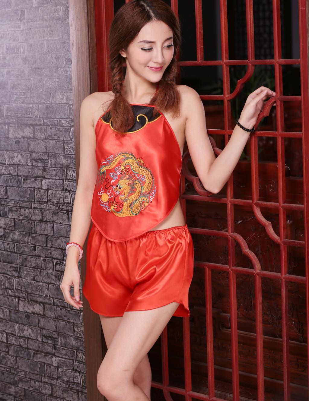 Red Bellyband nữ natal năm kích thước lớn đồ ngủ phong cách dân tộc phụ nữ cổ điển Trung Quốc phong cách đám cưới Bellyband phong cách tòa án - Bellyband