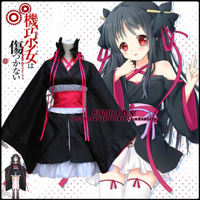 taobao agent 2015 new anime costumes, clever girls will not get hurt, every night cosplay suit, vibrating sleeves, Japanese kimono