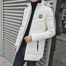 羽绒服男2017冬季新款男士连帽外套韩版潮流保暖衣服