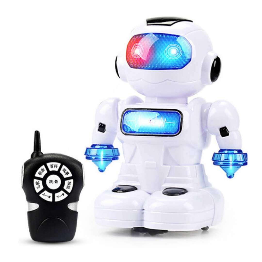 Giáo dục sớm đồ chơi thông minh Altman transforming robot một nút vocal glow giả câu đố trẻ em đồ chơi trẻ em