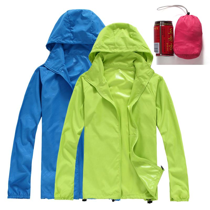Quần áo da cho nam giới và phụ nữ mỏng tăng thể thao áo gió những người yêu thích mặc kem chống nắng mùa hè ngoài trời áo làm việc quần áo không thấm nước
