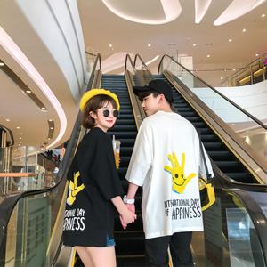 炒鸡好看 2018夏款港风情侣时尚潮流 电商B212-KT191-P35