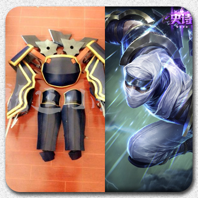 taobao agent 【Long Ting】LOL League of Legends cosplay props/Master of Shadows/Ji/Impact Blade Full Equipment