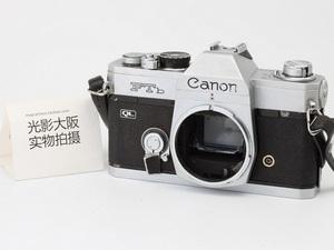 Canon CANON FT QL bạc kim loại cơ thể 135 full frame SLR phim phim film máy ảnh