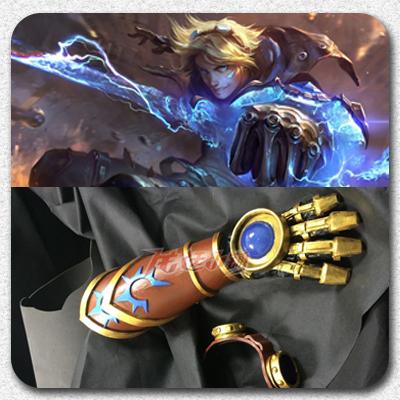 taobao agent 【Long Ting】LOL League of Legends cosplay/ Spot Explorer ezcos Izeril EZ Gloves