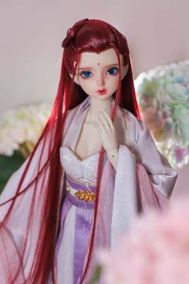 taobao agent 【Kaka Planet】BJD doll wig antique wig styling wig hand hook shaped finished product