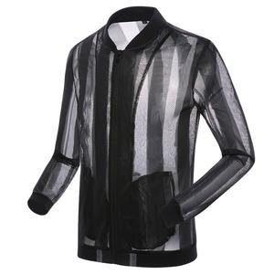 Sano Adida mặt trời bảo vệ quần áo nam mùa hè siêu mỏng thoáng khí bảo vệ UV áo khoác Hàn Quốc phiên bản của xu hướng đẹp trai áo khoác nam