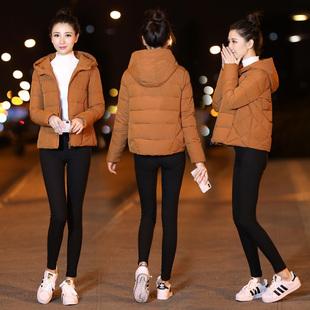 棉衣女短款2018秋冬韩版新款加厚宽松羽绒棉服女装外套小棉袄163