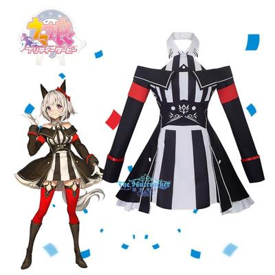 taobao agent Nutcracker COS Horse Racing Game Winning Suit Real Smart Anime Cosplay Costume F0185 Spot