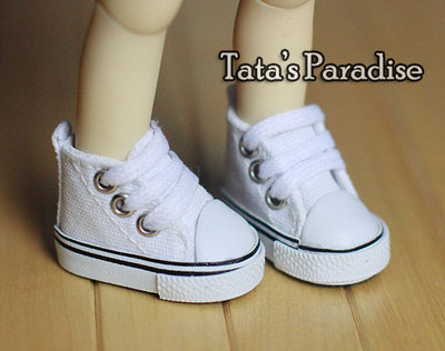 taobao agent 1/6 points BJD.SD.YOSD.BB baby shoes, canvas shoes, sports shoes, casual shoes, white sneakers