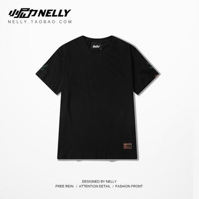 Bờ Biển phía tây của Mỹ Ma Ye cá tính người đàn ông da trắng và phụ nữ hình loose nửa tay áo T-Shirt đồng phục bóng chày ngắn tay TEE XL Đồng phục bóng chày
