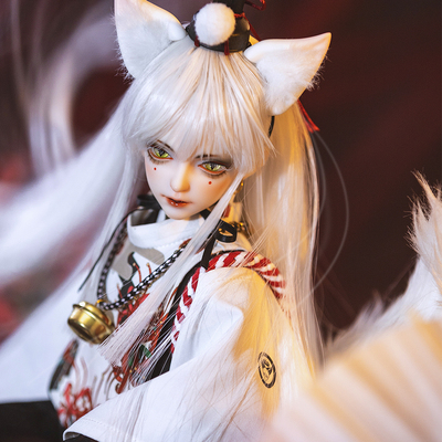 taobao agent bjd Ring of RD Male 1/4 Fox Mengsheng Accessories Ear Tail Mask Necklace(sd doll similar genuine)