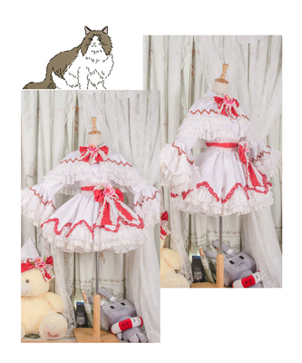 taobao agent 【March 8th Alliance】Touhou project fairy cos fold hell Bai Lili cosplay