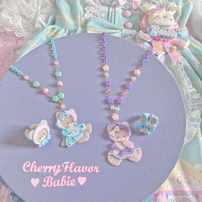 taobao agent 【New Six Group Appointment】Rainbow doll house small things apron/hand sleeve/KC/necklace/ring/ribbon