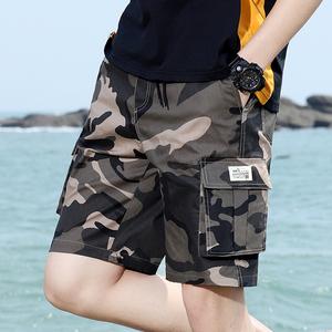 短裤男士2020新款夏季薄款宽松直筒五分裤韩版潮流百搭休闲运动裤