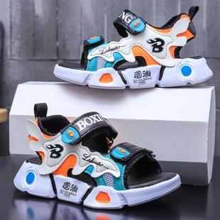 男童凉鞋2021新款夏季中大童防滑软底儿童鞋子小男孩韩版宝宝鞋潮