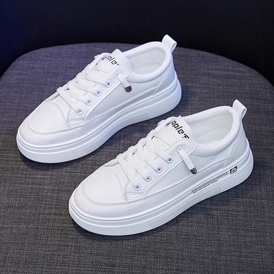 百搭小白鞋女鞋2021年春秋新款运动鞋子网红老爹鞋ins潮超火春季