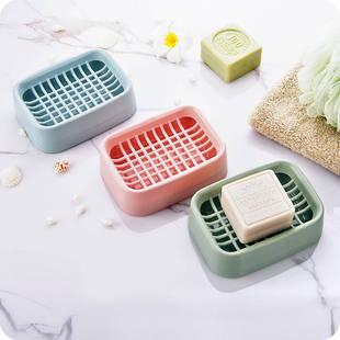 【3个装】创意浴室双层沥水肥皂盒