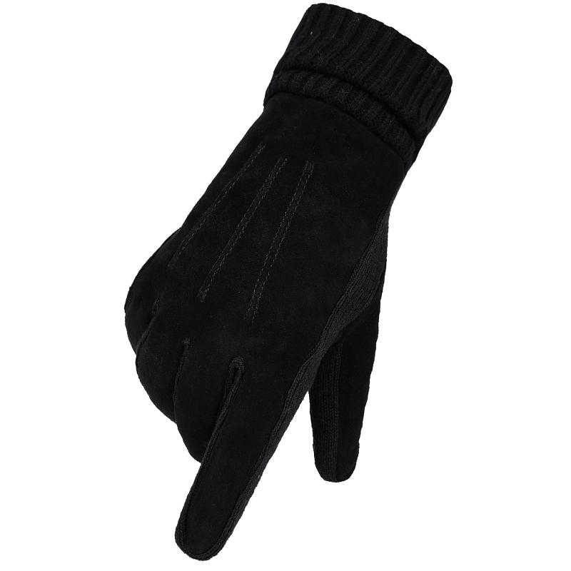 天神秋冬季男士真皮手套