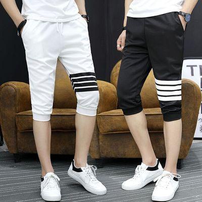 Mùa hè cắt quần bé trai thể thao quần của nam giới chân trong quần thanh niên sinh viên mùa hè phần mỏng quần short giản dị Quần mỏng