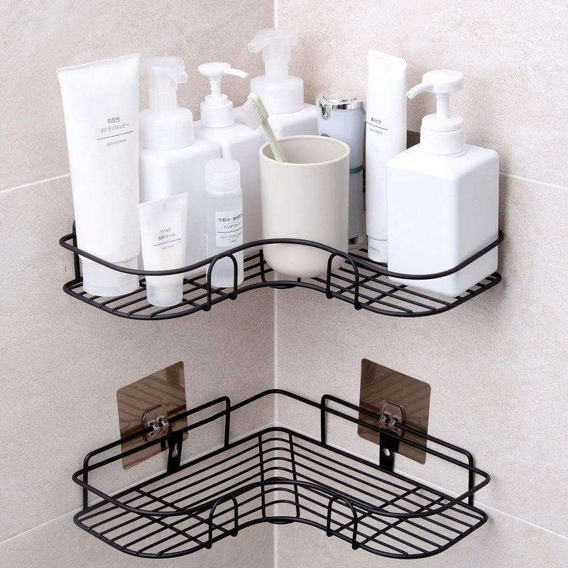 浴室置物架免打孔厕所洗手间马桶毛巾架