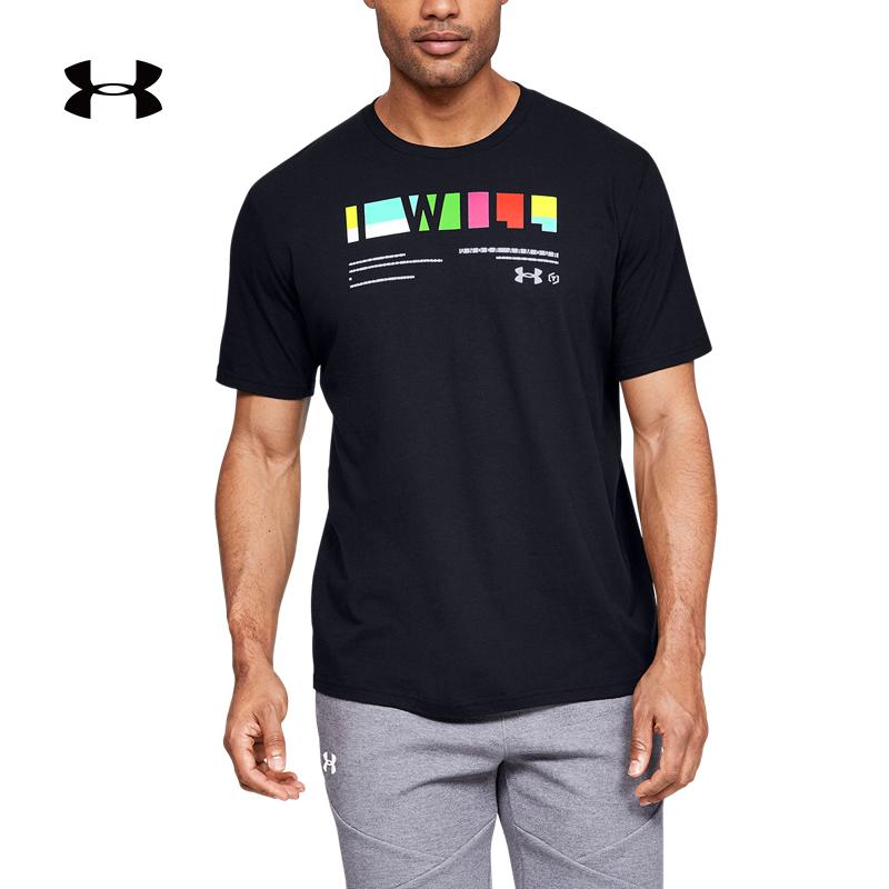 安德玛UA I WILL男子训练运动T恤健身跑步休闲半袖1348436 74元包邮(需用券)