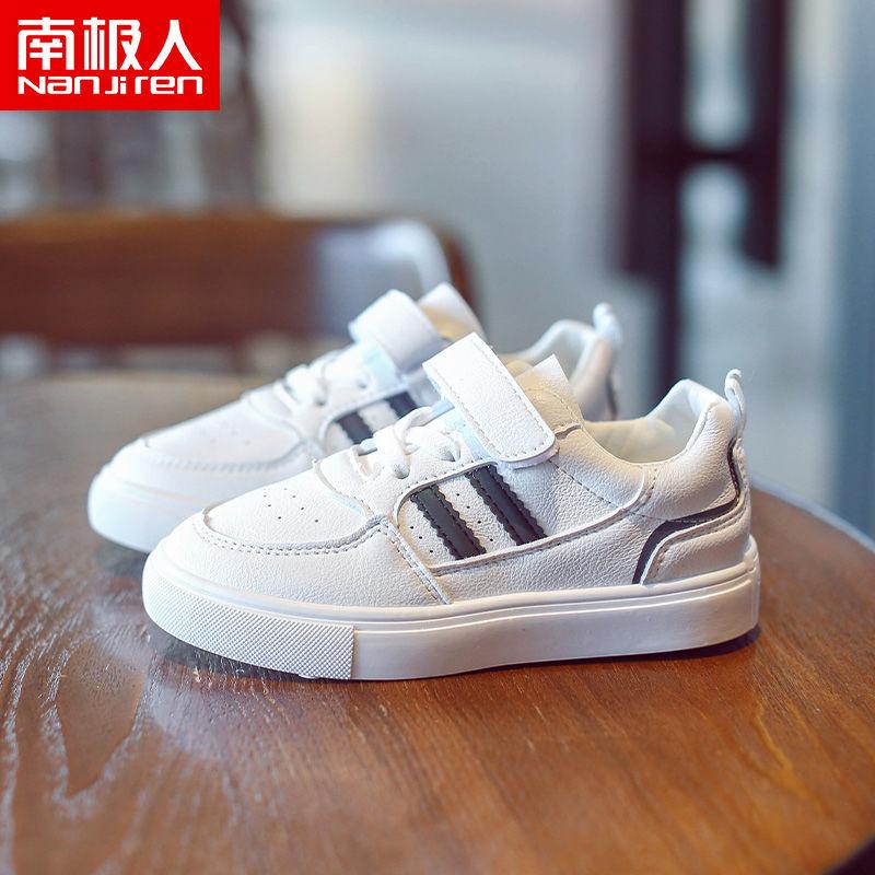 皮卡丘男童棉鞋2021秋冬季儿童运动鞋加绒男孩鞋子中大童皮面防水