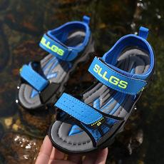 男童凉鞋 夏季儿童沙滩凉鞋2018新款 韩版中大童露趾 小孩童凉鞋