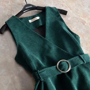 Rất thực tế và rất linh hoạt 2018 mùa xuân Hàn Quốc vành đai eo giảm béo vải to sợi áo vest nhỏ nữ đoạn ngắn