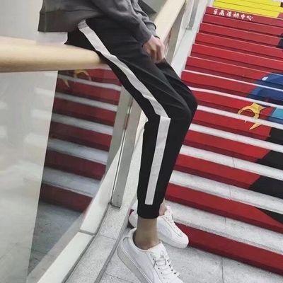 12-13-14-15-16 tuổi cậu bé junior học sinh trung học quần mùa hè trai quần âu thanh niên Hàn Quốc phiên bản của chín quần Crop Jeans
