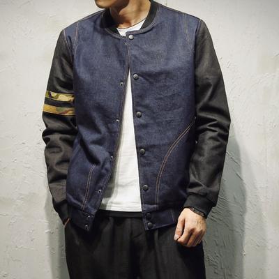 男装搭配:春季男装外套韩版运动修身夹克上衣