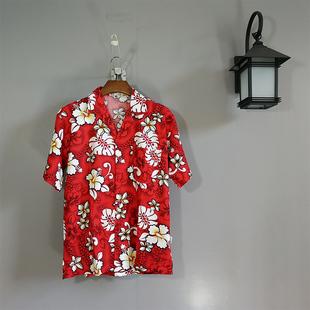Мечтать синий кокос хайнань остров одежда мужской рубашка песчаный пляж одежда три азия путешествие праздник одежда гавайи цветок рубашка c09