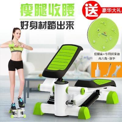 Đôi siêu stepper vừa và nhỏ thiết bị tập thể dục câm miễn phí lắp đặt giảm béo đa chức năng hộ gia đình giảm cân đạp máy