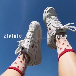 Phong cách Harajuku nữ ulzzang hoang dã nữ sinh viên tăng thêu đáy phẳng giày giày thấp dày dưới giày thường