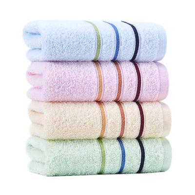 4条 洁丽雅毛巾纯棉洗脸家用成人柔软吸水擦脸加厚全棉男女不掉毛