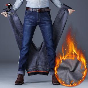 【啄木鸟】男士秋冬加绒款休闲裤牛仔裤长裤