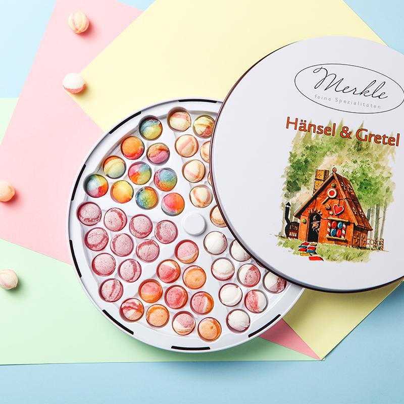 德国MERKLE&BISKUP•缤纷水果汁跳棋糖礼盒
