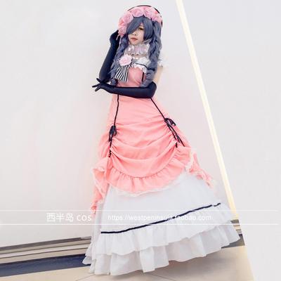 taobao agent Black Butler Shire COS clothing dress skirt cosplay women's custom-made spot