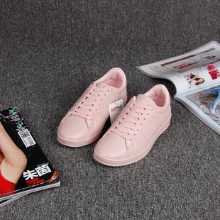 Красный ступня внешняя торговля обувь женская квартира обувь мисс мода четыре сезона обувной белые туфли спортивной обуви