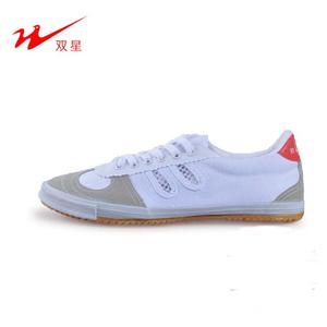 Đôi sao bóng chuyền giày trắng sneakers breathable giày vải không trượt gân dưới buổi sáng đào tạo giày sinh viên kiểm tra cơ thể theo dõi và lĩnh vực giày