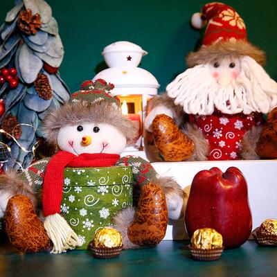 高档大号平安夜礼盒包装盒礼物苹果盒礼品礼物圣诞节装苹果的盒子
