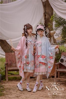 taobao agent Camellia song series summary NyaNya original Lolita dress