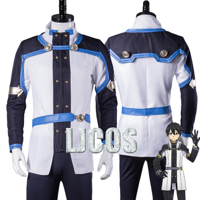 taobao agent 【LJCOS】Sword Art Online Theatrical Edition Sequence Battle Kirito Full Cosplay Costume