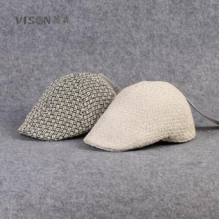 Все конопля ткать фуражка берет весна на открытом воздухе путешествие шляпа путешествие крышка воздухопроницаемый случайный корейский мужской и женщины волна