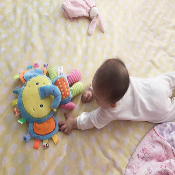 Может Укус укусить этикетка спальный кукла сцепление рукоятка ребенок плюш ткань кукла детские руки даже куклы успокоить полотенце игрушка