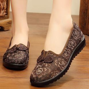中年妇女老北京大码布鞋