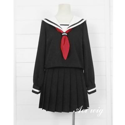taobao agent AOI Hell Girl Yan Moai Xiaoai Student Uniform Sailor Uniform School Uniform Cosplay Costume