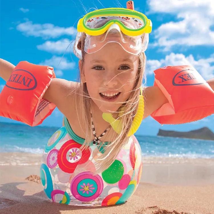 Trẻ em đẹp của vòng bơi float 3-6-10 tuổi trẻ em sinh viên kỳ nghỉ hồ bơi đồ chơi nước bãi biển bóng vòng tay
